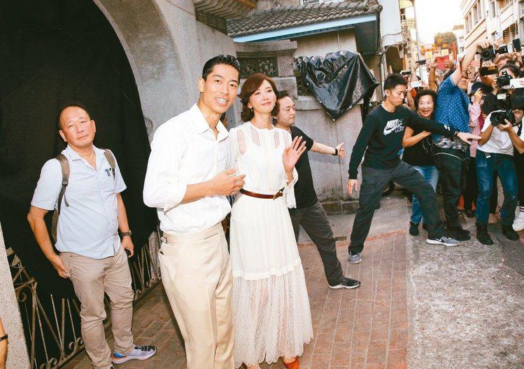 林志玲今天將在台南美術館舉辦婚宴。圖/聯合報系資料照片