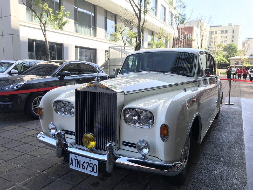 林志玲坐的禮車。記者黃保慧/攝影