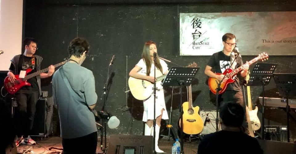 夏宇童(中)今辦音樂會。圖/摘自臉書