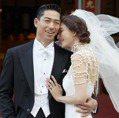 高清圖多/無懈可擊的絕美婚紗!林志玲與AKIRA世紀婚禮美圖合集看這裡