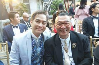 林健寰(左)與洪偉明同框。圖/林健寰提供
