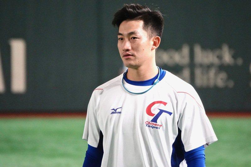世界12強棒球賽,中華隊投手吳昇峰對美國隊一戰雖然吞敗,但6.2局失三分的表現,感動不少球迷。 聯合報系資料照 特派記者蘇志畬/攝影