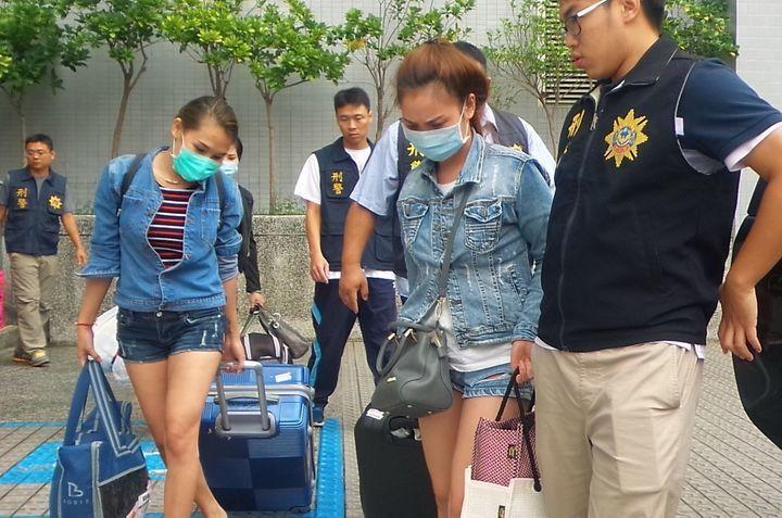 越南女子涉以觀光名義來台賣淫。資料照片/本報記者翻攝