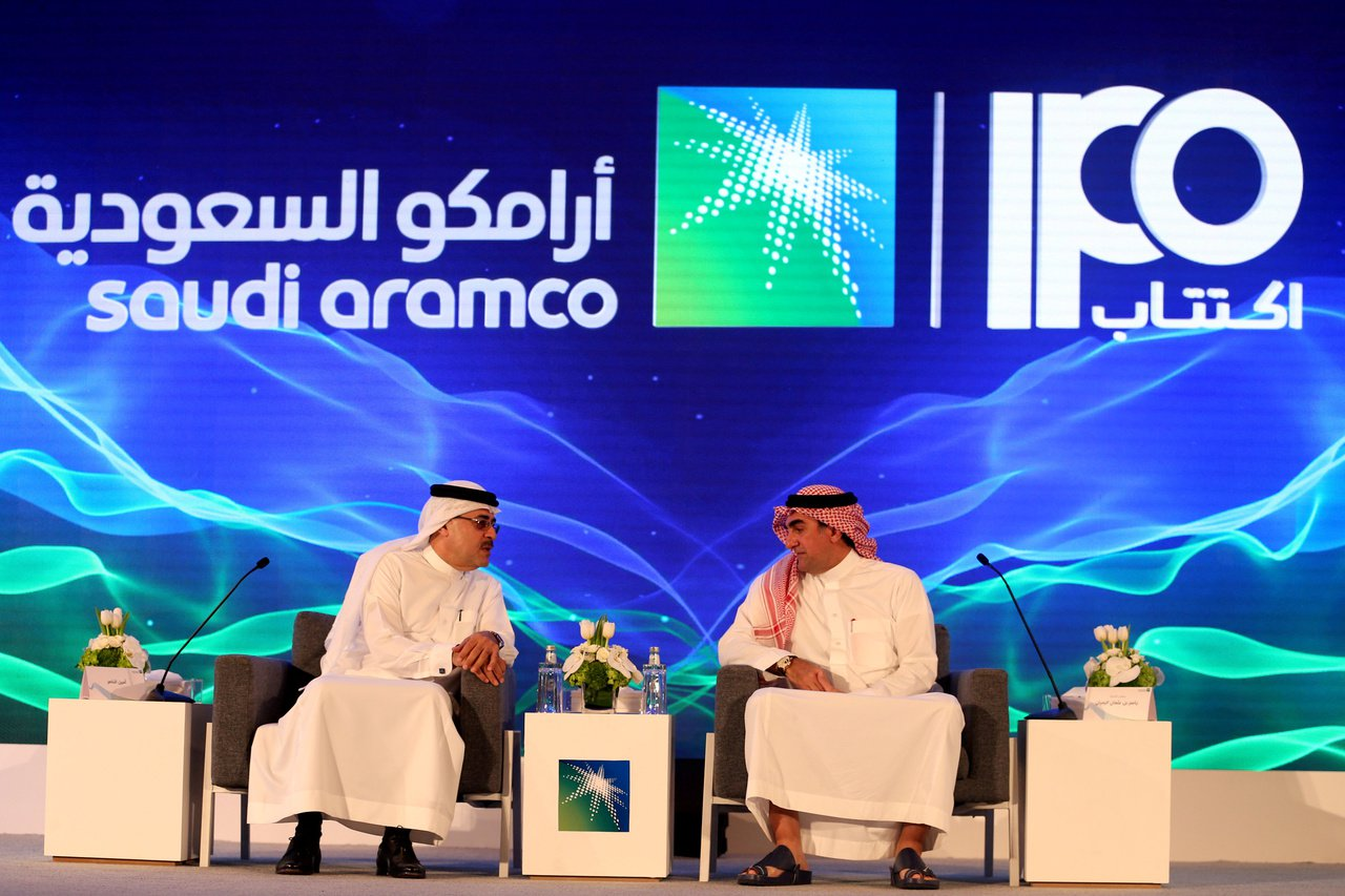 沙烏地阿拉伯國家石油公司(Saudi Aramco)最高估值為1.71億美元,計...