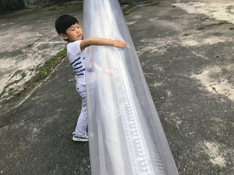 黃偉倫的兒子也參與不少爸爸辦的活動。 圖/草字頭提供