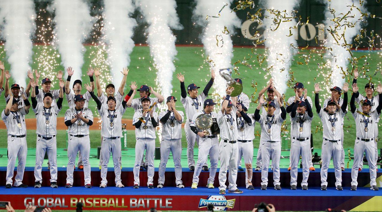 日本隊擊敗南韓奪得12強賽冠軍。 特派記者侯永全/攝影
