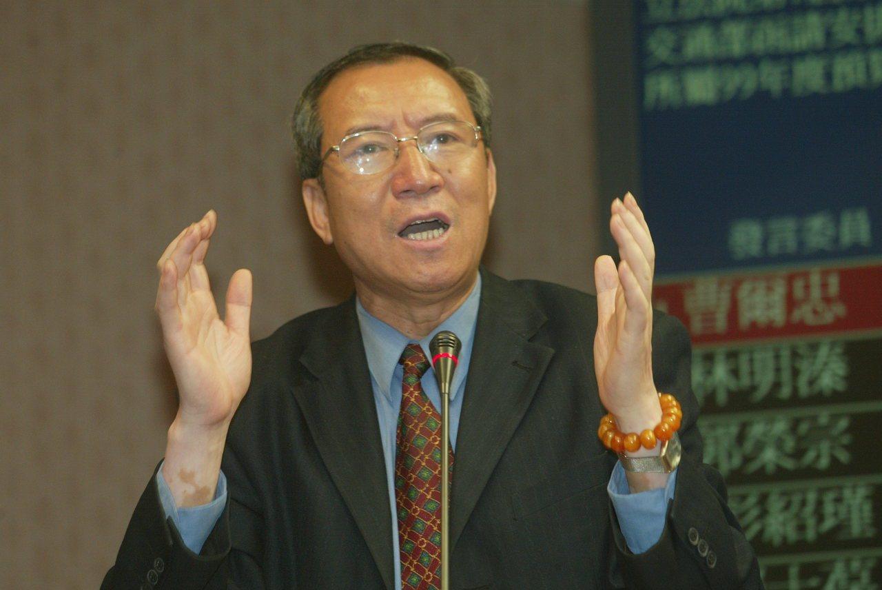 前立委曹爾忠昨天宣布以無黨籍身分參選立委。 圖/聯合報系資料照片