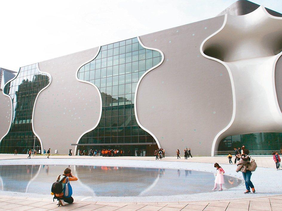 台中歌劇院。 圖/聯合報系資料照片