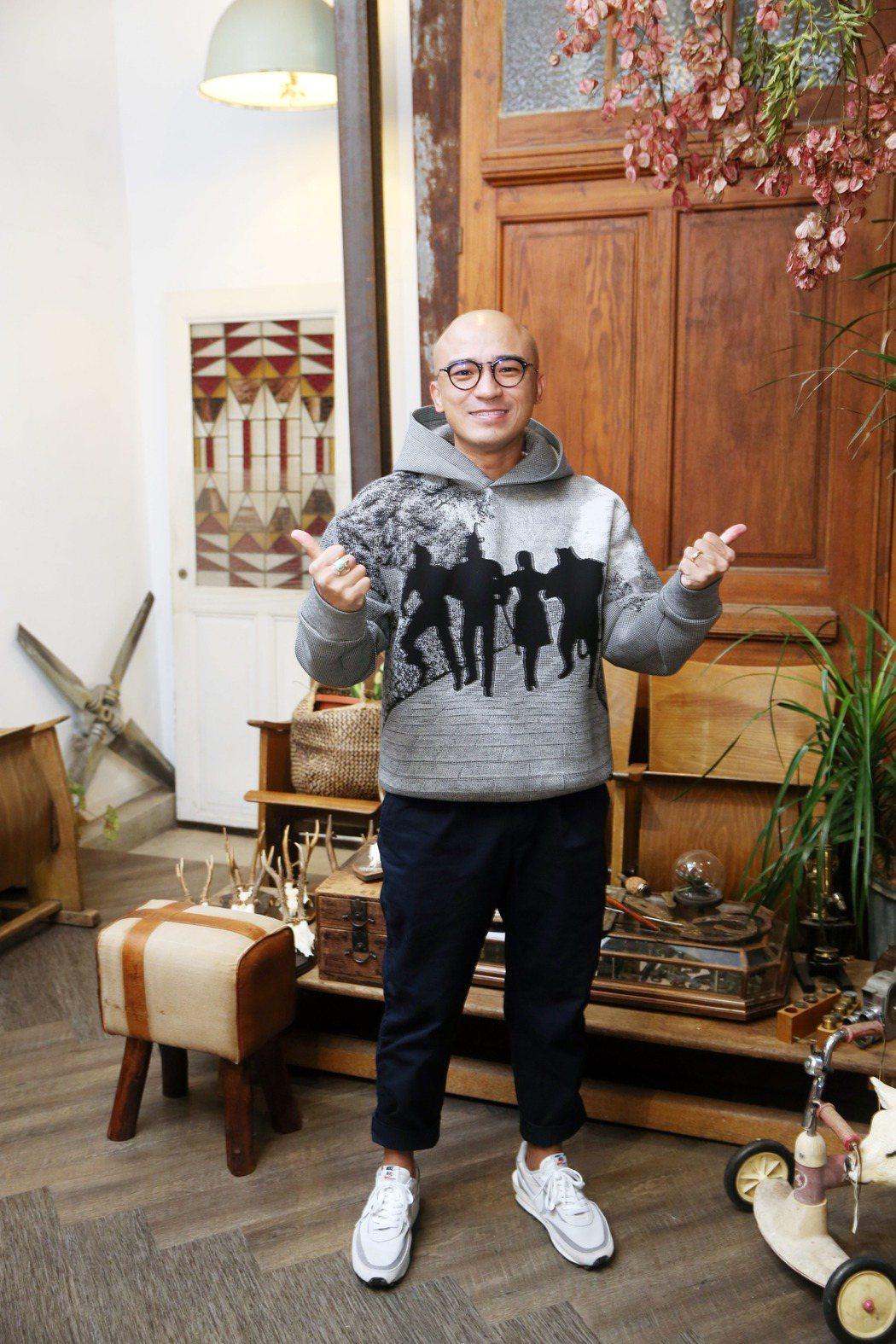 倪子鈞(小馬)同名專輯「倪子鈞」舉行發片記者會。記者邱德祥/攝影