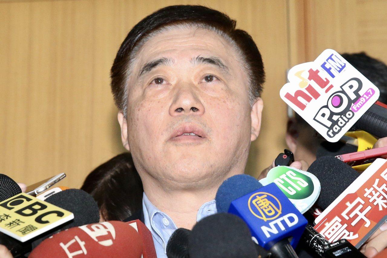 國民黨副主席郝龍斌。聯合報系資料照片/記者林伯東攝影