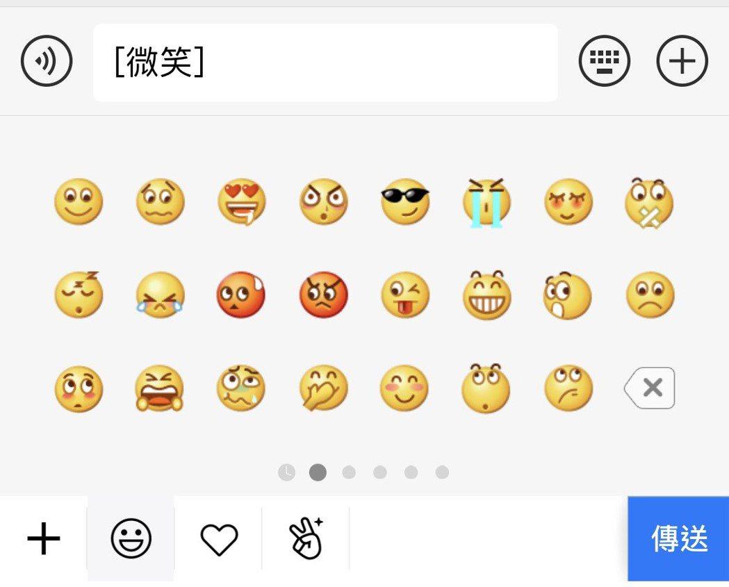 微信中的「微笑」表情圖案引發熱議,這個「微笑」表情被微信設置成表情圖案欄的首位。...