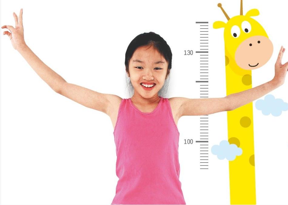 醫師表示,孩子的身高有7成與先天遺傳相關。圖/聯合報系資料照片