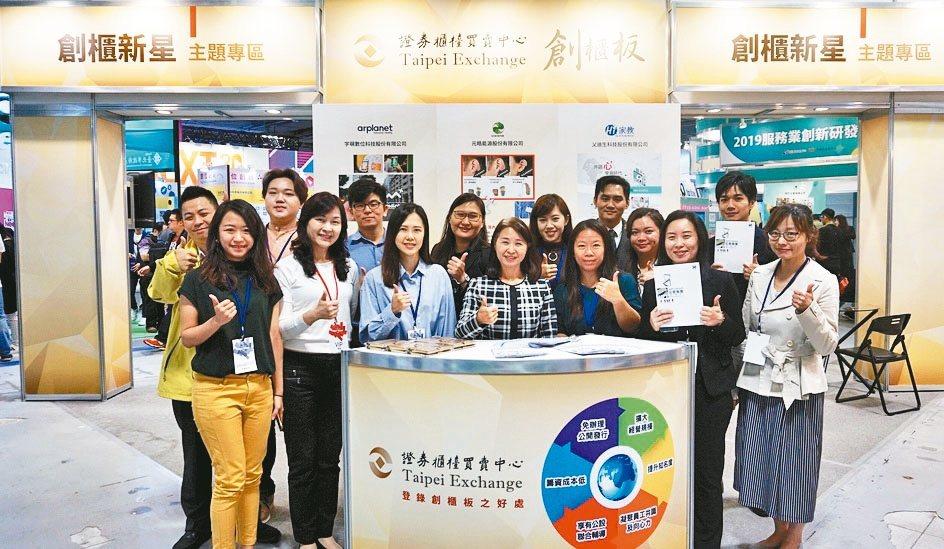 櫃買中心帶領七家創櫃板公司參展「2019 Meet Taipei」創新創業嘉年華...