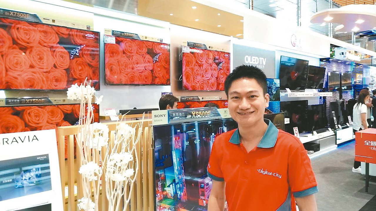 全國電子總經理林政勳負責營運及品牌經營,自我期許很高,勇於面對市場環境的挑戰,對...