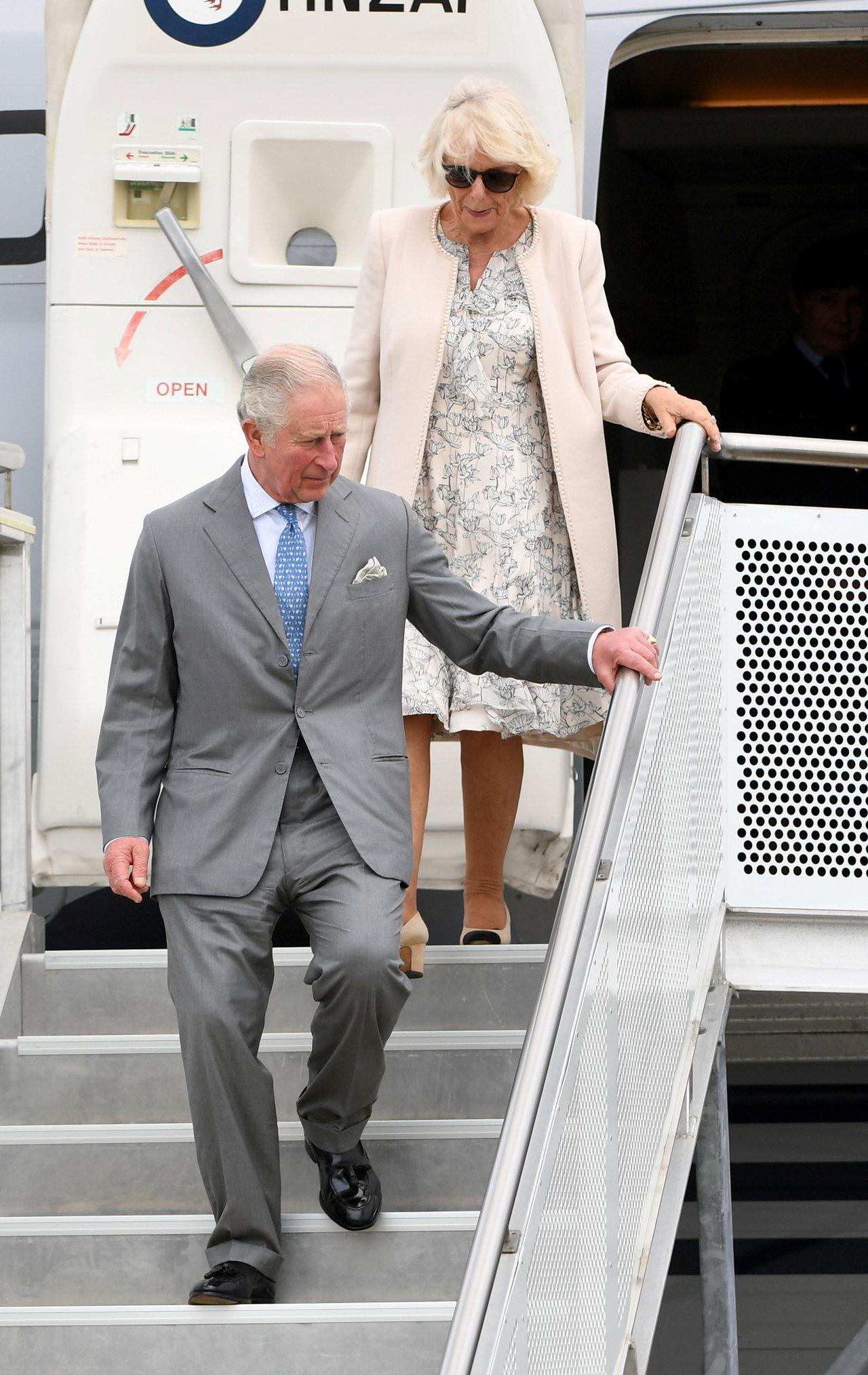 英王儲訪紐西蘭,關心環境和受暴婦女。 路透社