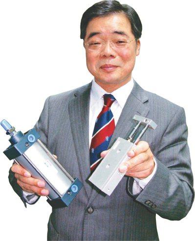 亞德客董事長王世忠。 圖/聯合報系資料照片