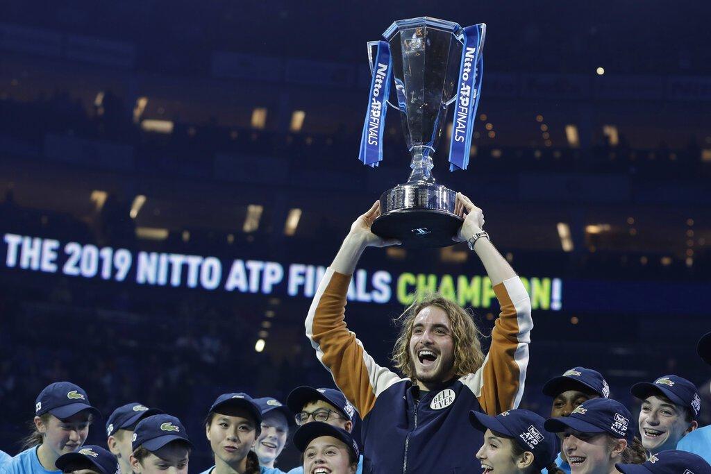 在希臘新星西西帕斯稱霸ATP年終賽後,彷彿讓人看到世代交替的一刻,他也相信自己離...