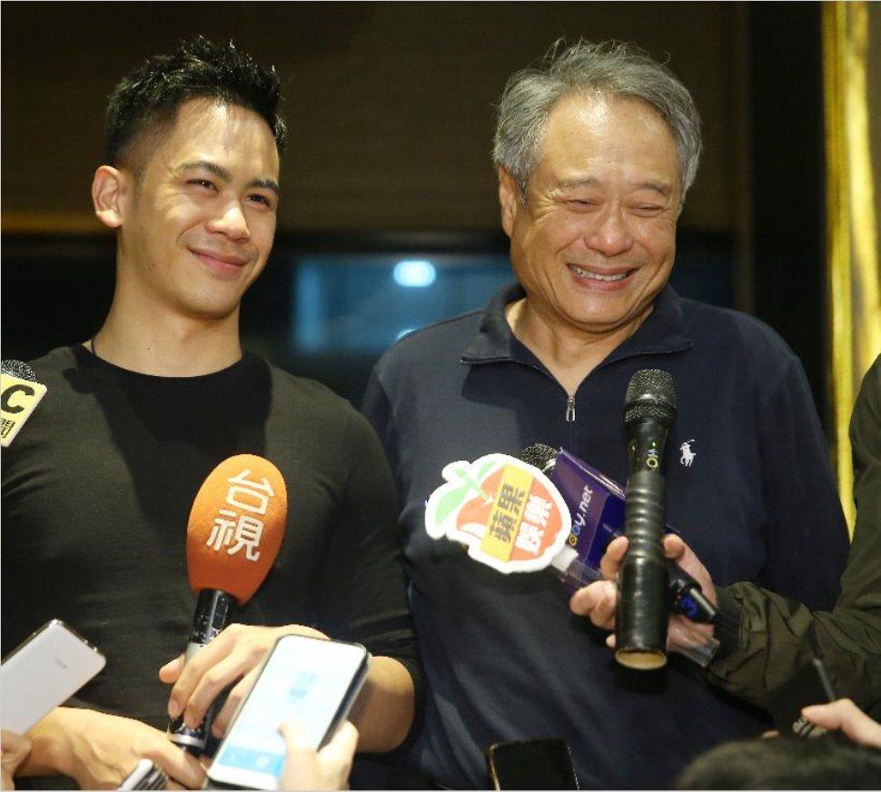 李安與李淳。圖/本報資料照片