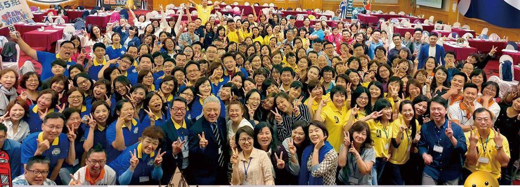 台名保經年度進修會日前於新竹煙波飯店盛大舉辦。台名/提供。