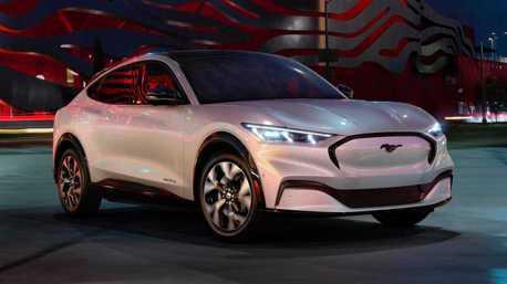 Model Y勁敵來了?中國產純電野馬Ford Mustang Mach-E下月亮相!