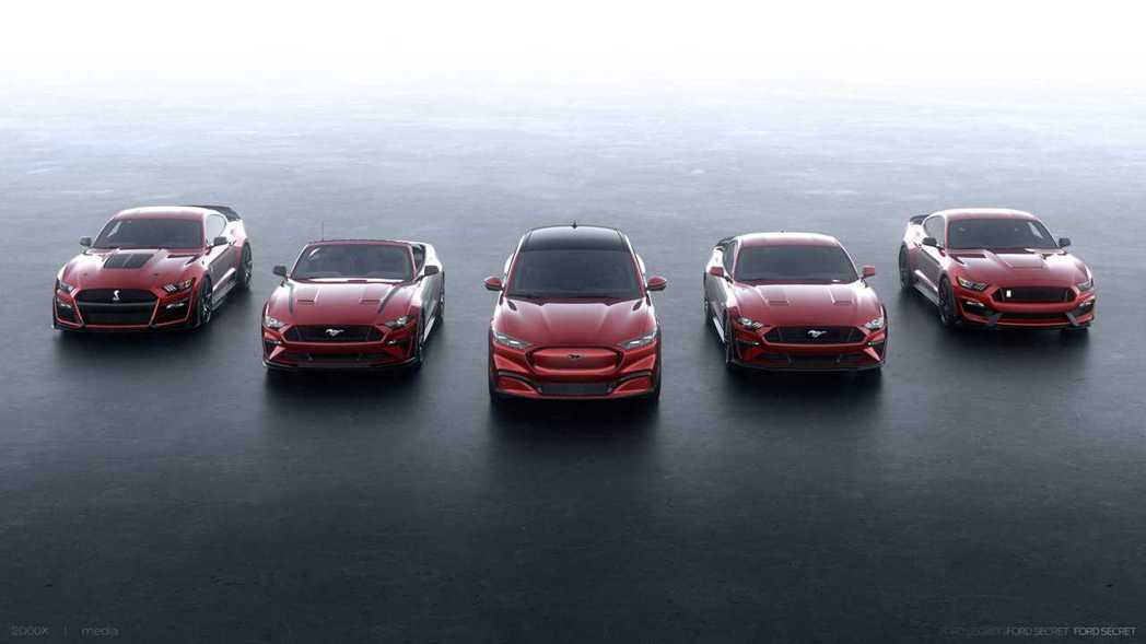 Ford Mustang車系,在經過55年後首度加入了SUV車型Mach-E。 ...