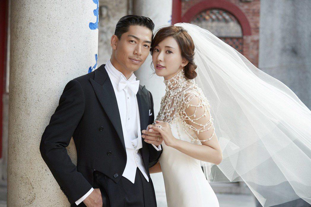 AKIRA和林志玲婚禮受到台日兩地一致祝福。圖/LDH提供