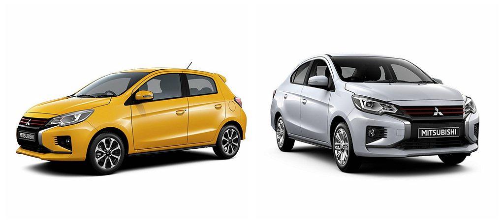 三菱Mirage與Attrage是品牌全球戰略小型車銷售主力,光2018年就累積...