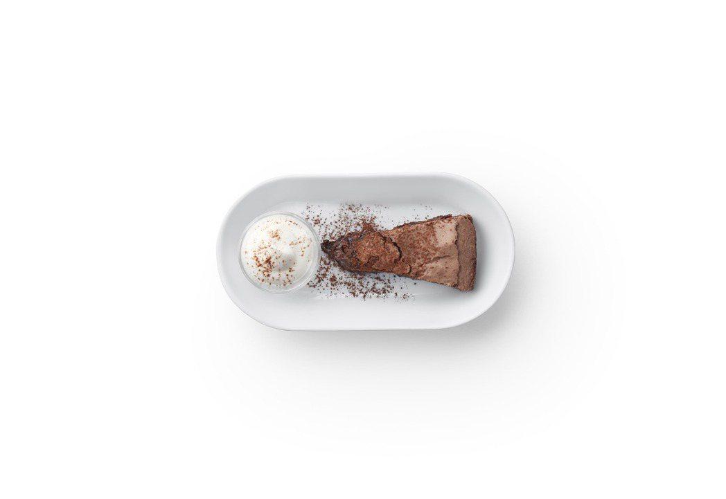 瑞典巧克力蛋糕:瑞典經典的巧克力蛋糕kladdkaka口感類似布朗尼,但是更加濕...