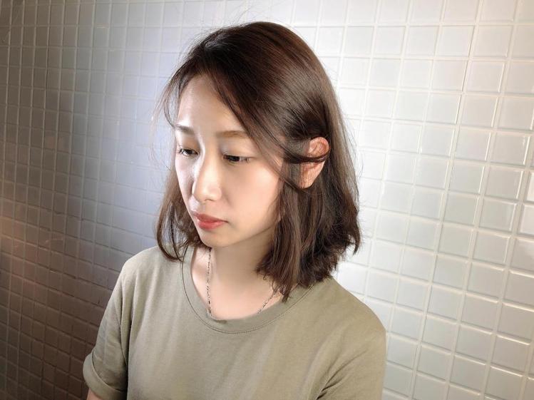 髮型創作/法斯亞 hair salon / W翁心俞。圖/StyleMap美配提...