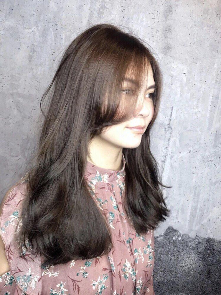 髮型創作/空气概念 九館 / Gene 吉恩。圖/StyleMap美配提供