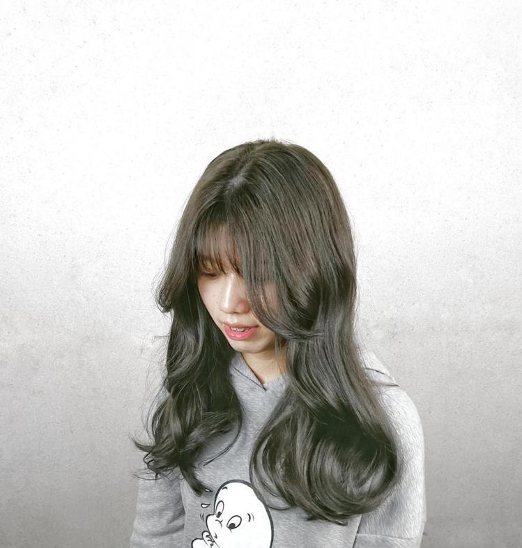 髮型創作/1995 Hair Salon / 珮珮。圖/StyleMap美配提供
