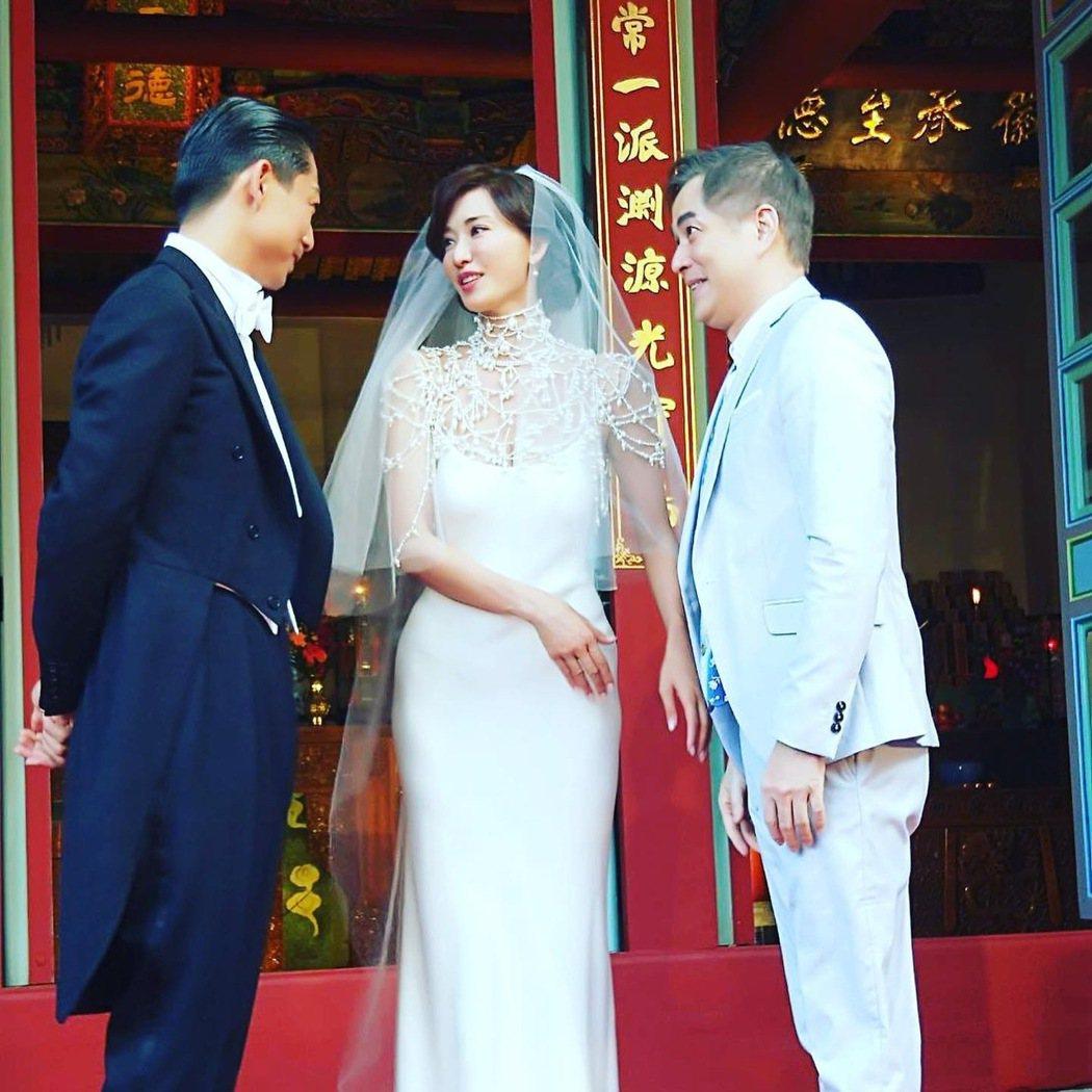 林志玲感恩當年帶他入行的林健寰(右) 圖/林健寰提供