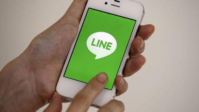 Line和雅虎日本合併有彼此截長補短之效。 美聯社