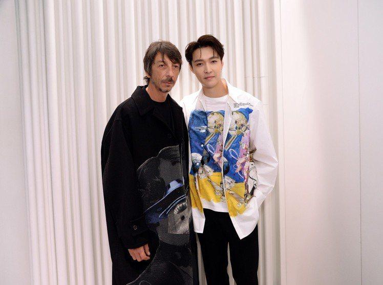 Valentino創意總監 Pierpaolo Piccioli與大中華區男裝代...