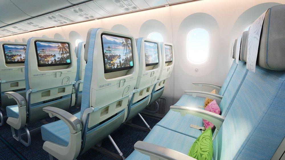 大溪地航空推出經濟艙優惠,原價約11萬元、特價88,500元起。圖/大溪地航空提...
