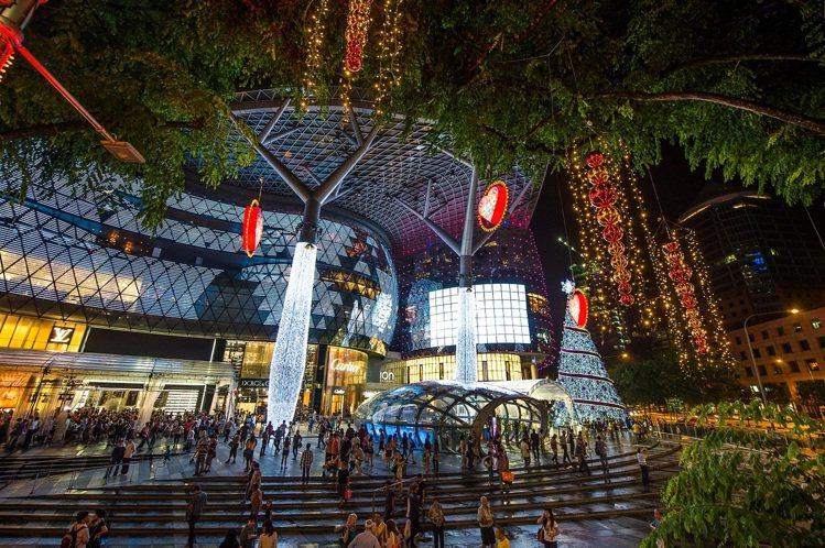 烏節路「聖誕大街歡」。圖/新加坡旅遊局提供