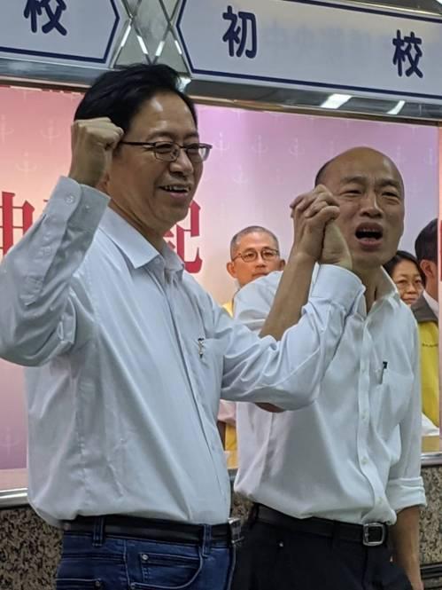 2020總統大選,國民黨推出的「國政配」今早完成登記。記者蔡佩芳/攝影
