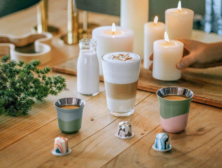 Nespresso PIXIE LUNGO限量咖啡杯組,建議售價1,180元。圖...