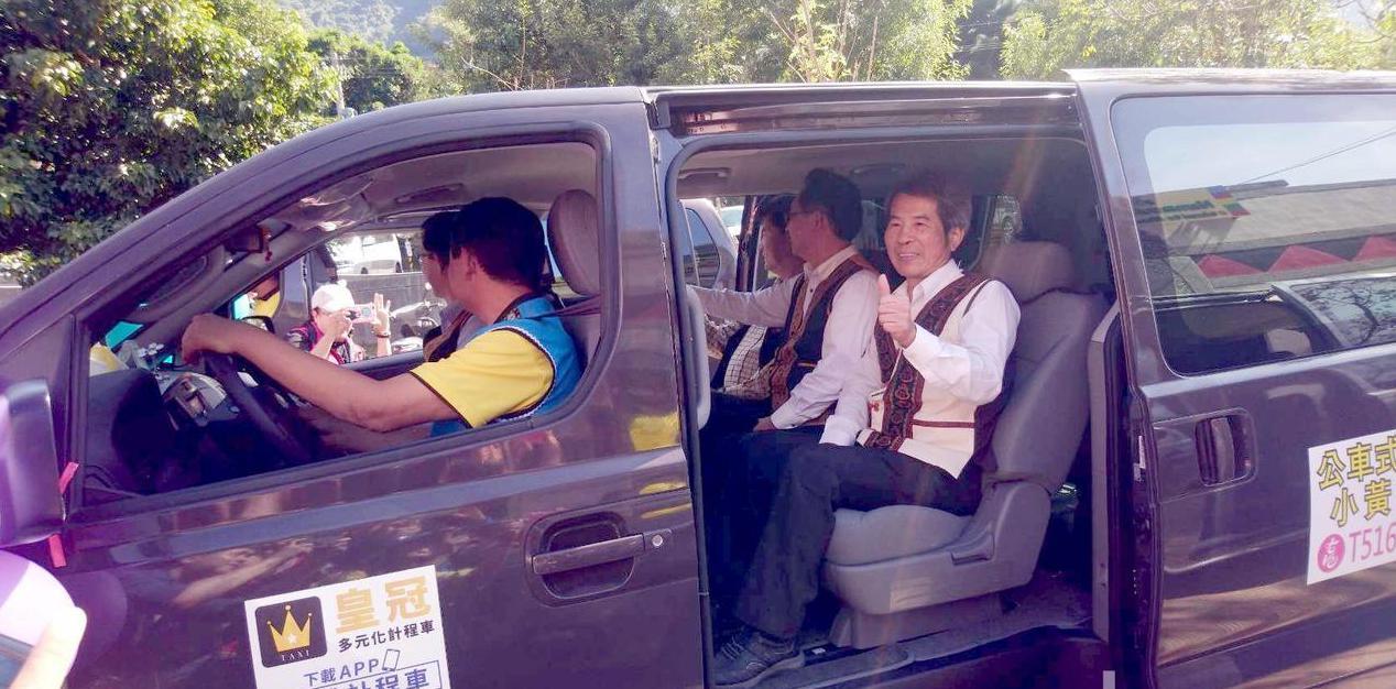 那瑪夏「幸福小黃」上路,具備衛星定位系統的6至8人座公車式小黃,請通勤安全更有保...