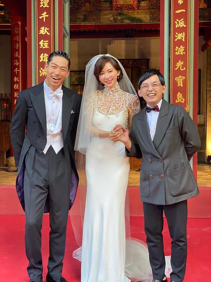 黃子佼開心到台南送上祝福。圖/摘自臉書