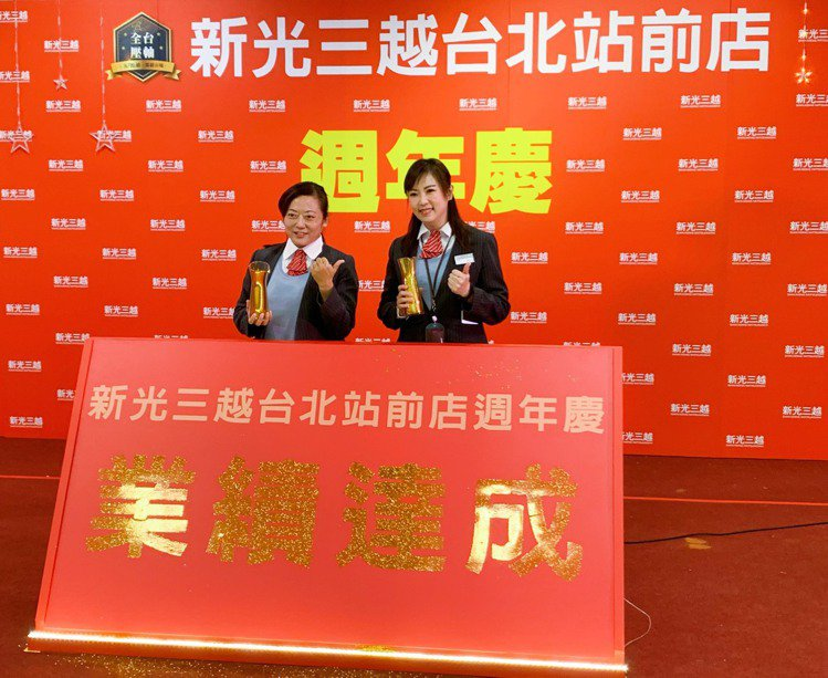 新光三越台北站前店週年慶11/28~12/15強勢登場。記者徐力剛/攝影