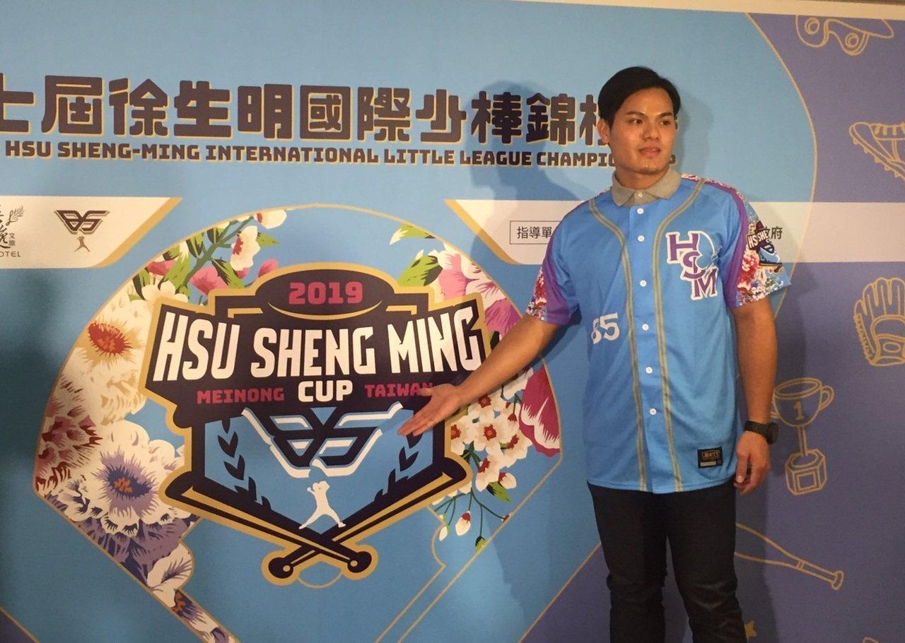 張育成被中華隊鬥志感動,也稱讚小聯盟隊友江少慶投出霸氣。記者吳敏欣/攝影
