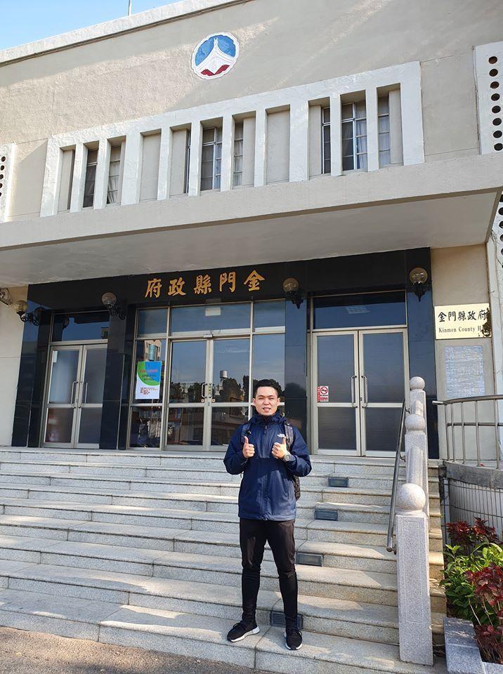 今天是立委登記首日,台灣基進黨洪正上午第一名完成登記立委。圖/翻攝自洪正臉書