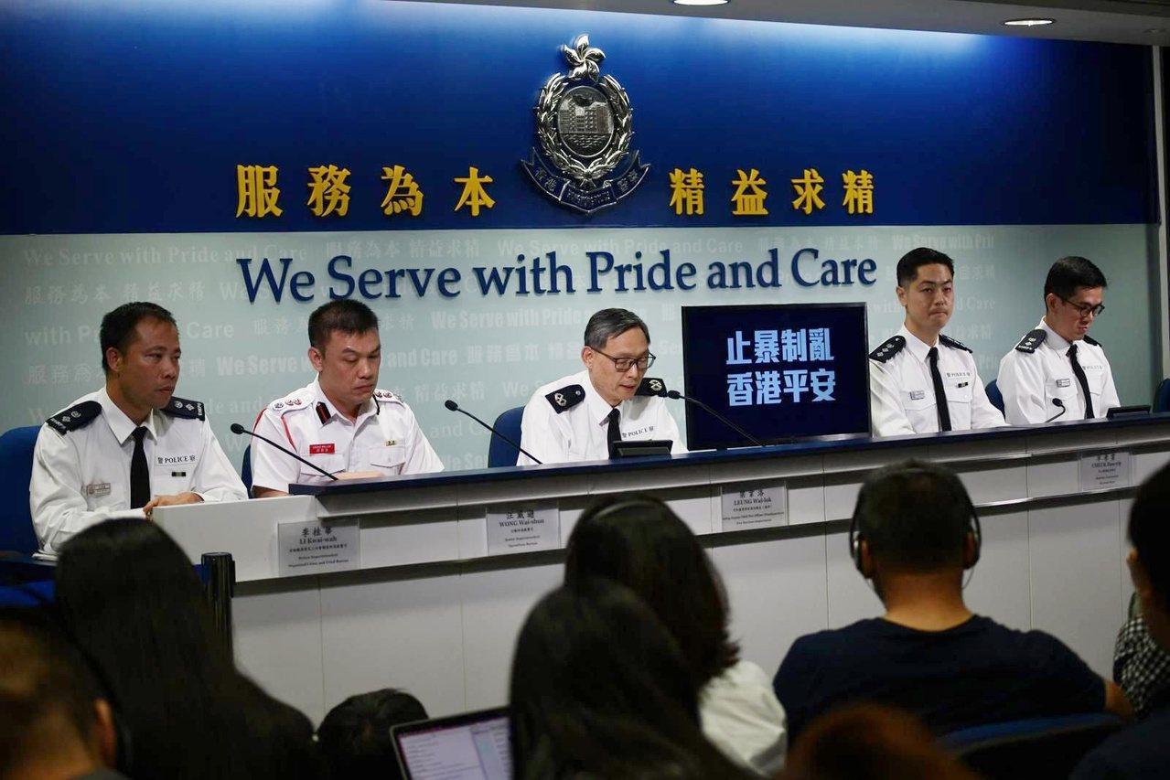 港警今天表示,將依法庭裁決,暫停執行禁蒙面法。取自星島網