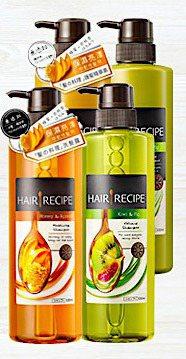「Hair Recipe蜂蜜杏桃洗髮精」深受女性粉絲喜愛。圖/取自PChome ...