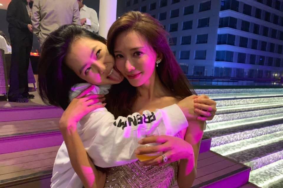 小S和林志玲在After Party玩得相當開心。圖/摘自臉書