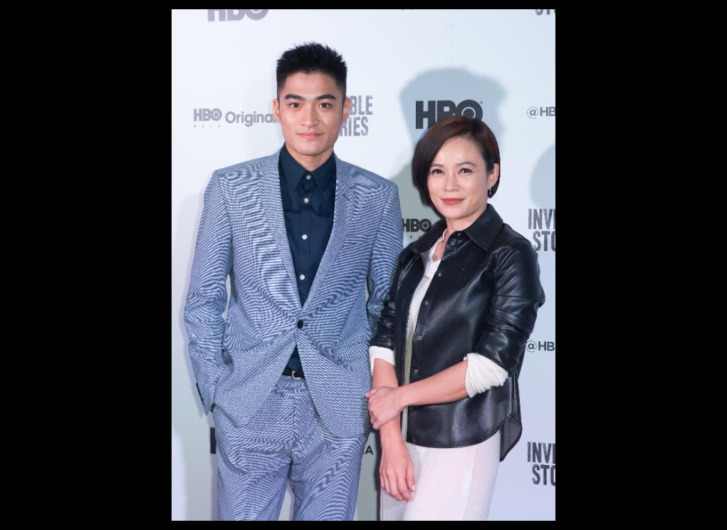 楊雁雁、潘綱大出席HBO原創影集「影匿人生」記者會。記者季相儒攝
