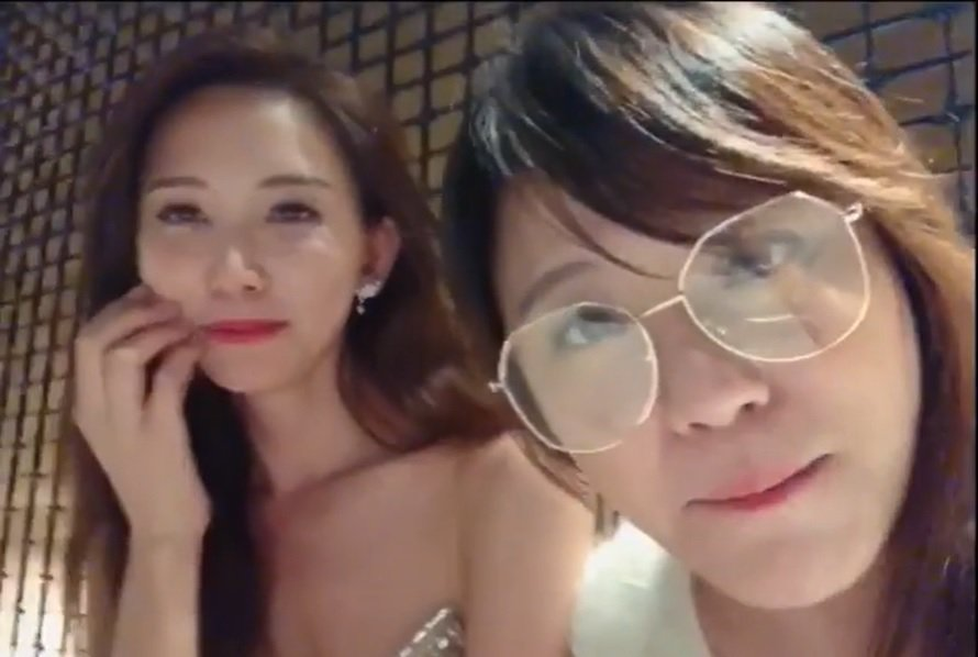林志玲(左)與海裕芬情同姊妹。圖/截圖自IG