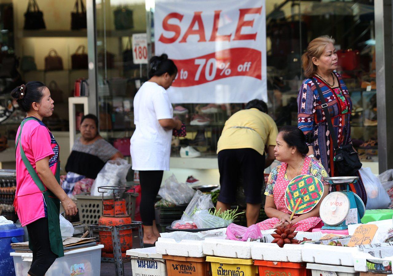 泰國上季經濟成長腳步放緩至一年來最低。歐新社