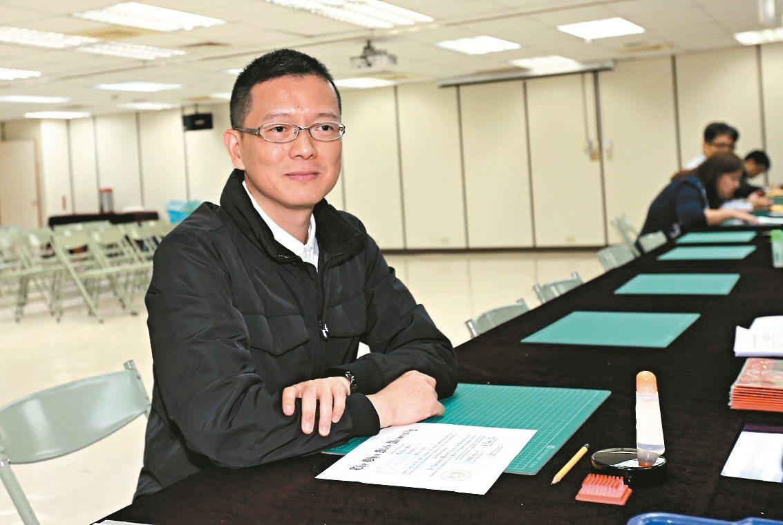 韓辦副執行長孫大千。 記者許正宏/攝影